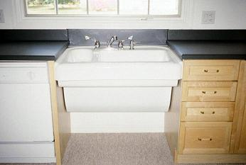 new kitchen with accessible features   roll under sink lever handle faucets pull out shelf lazy susan cabinet inserts  adventure in building inc    gallery  rh   adventureinbuilding com